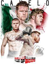 Saul Canelo Alvarez New Boxing Poster 24x36 4LUVofBOXING White