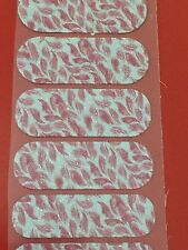 Jamberry Nail Wrap Half Sheet - Drift Away - Black Friday 2015 Exclusive Retired