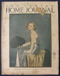 Ladies Home Journal Woman's Magazine Domestic Arts January 1924