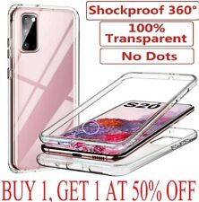 For Samsung Galaxy S10 S20 S21 Plus S20 FE A12 Case Cover Clear Screen Protector