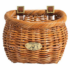 Nantucket Cisco Front Basket, Classic Shape Honey
