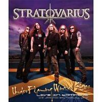 "STRATOVARIUS ""UNDER FLAMING WINTER SKIES - LIVE IN TAMPERE""  BLU-RAY NEU"