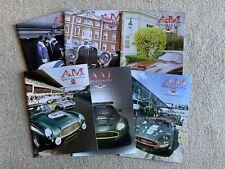 Aston Martin Owners Club Magazines AMOC AM Quarterly 2003 2004 2005 Six