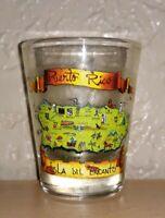Puerto Rico shot glass. Shotglass. Isla della Encanto.