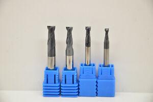 Schaftfräser 3,0mm 4,0mm 5,0mm 6,0mm Z=2