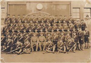 OLD VINTAGE PHOTO ASIA JAPAN JAPANESE MILITARY RIFLE BX1