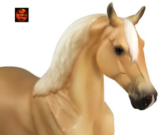 BREYER HORSE TOY MODEL 917 - 1:12 SCALE PALOMINO MORGAN HORSE - NEW IN BOX