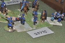 25mm ACW / union - generals & escort 12 figures - command (29775)