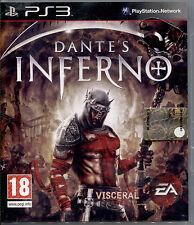 DANTE'S INFERNO - PS3 NUOVO E SIGILLATO, PRIMA EDIZIONE ITALIANA, F.C. RARISSIMO