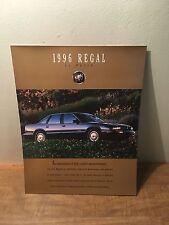 1996 Buick Regal and Gran Sport Car Sales Brochure Catalog