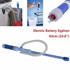 Battery Operated Liquid Transfer Pump Siphon Gas Oil Fish Tank Aquarium Water