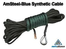 AmSteel®-Blue Replacement Synthetic Winch Cable/Rope 3/8 inch x 85 foot - GREEN