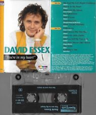 cassette tape DAVID ESSEX youre in my heart 1993 1970s pop star