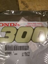 New OEM FourTrax 300 4X4 TRX300FW 87121-hc5-970zc emblem decal