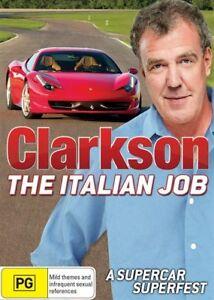 Clarkson - The Italian Job - 2 Disc Set - New & Sealed Region 4 DVD - FREE POST