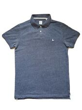 Men's Jack Wills Blue Polo Top Short Sleeve Polo S
