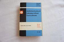1973 1974 Swiss Railway Timetable with Maps Switzerland Suisse Zurich