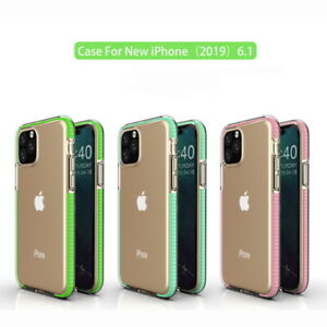 For iPhone 12 11 Pro Max X 7 8 Plus XS Max XR Clear Cover Soft Bumper Phone Case