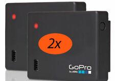 2-Pack GoPro Battery BacPac ABPAK-401 FOR HERO4 HERO3 15% MORE BATTERY STORAGE!