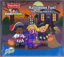Fisher Price Little People Halloween Fun Sing Alongs from A to Z Lyrics Inside