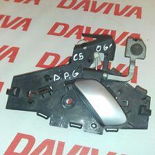 CITROEN C5 2000 - 2008 REAR RIGHT DRIVER SIDE DOOR INTERIOR HANDLE 9641315677