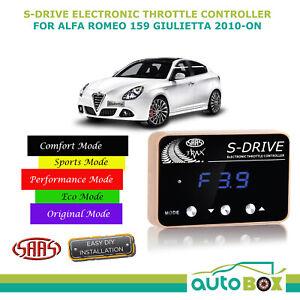 SAAS S-DRIVE THROTTLE CONTROLLER for Alfa Romeo 159 Giulietta 2010-onwards