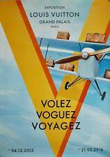 Affiche Louis Vuitton / Louis Vuitton Original Poster Paris Exhibition 2015/2016
