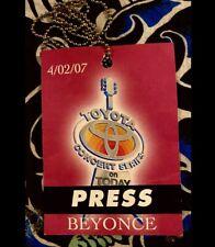 BeyoncÉ Performs Live - On Today Show Plaza - April 4, 2007 - Toyota Concert