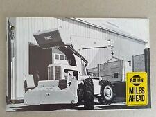 Galion New Model 125 Hydraulic Crane Leaflets/Brochures 1970's