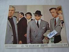 1969 THE SICILIAN CLAN Alain Delon Movie Lobby Card Press Photo 8 x 10 K