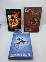 The Hunger Games Trilogy Series Book Lot Complete Set of 1-3