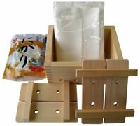 TOFU MAKER KIT Japanese cypress tofu maker Tofu Mould Maker Homemade Japan F/S