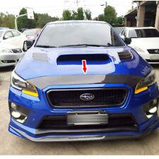 For Subaru WRX 4th Sedan STI Front Hood Bonnet Spoiler Carbon Fiber 2015-2019