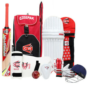 Storm Cricket Set For Adults Complete Sports Gears Kit Full Size For 14+ & Up
