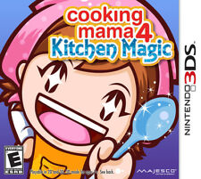 Cooking Mama 4: Kitchen Magic 3DS New Nintendo 3DS, nintendo_3ds;