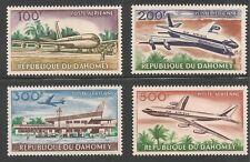 Dahomey #C20-C23 (AP6) VF MINT VLH - 1963 100fr to 500fr Boeing 707 Jets