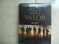 Act of Valor . Blu-ray w/ Slipcover
