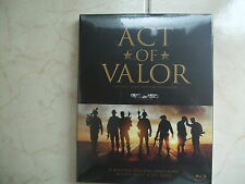 Act of Valor (2014, Blu-ray) O-ring Slip Case Edition