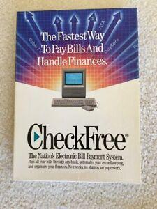 CHECKFREE VER. 1.5 ELECTRONIC BILLPAYMENT SOFTWARE for CLASSIC MAC MACINTOSH OS