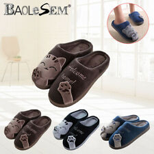 Men's Comfort Memory Foam Slippers Plush Lining Warm Slip on House Shoes US