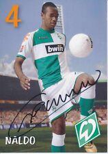 Naldo   SV Werder Bremen 2006/07  Autogrammkarte signiert 376617