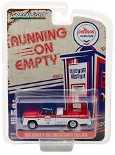 1:64 GreenLight *RUNNING ON EMPTY R3* CHEVRON = 1965 Dodge D-100 Pickup Truck