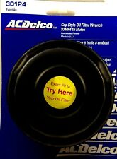 """ACDelco Cap Style Oil Filter Wrench 93MM 15 Flutes 3/8""""Dr 30124 Made In The USA"""