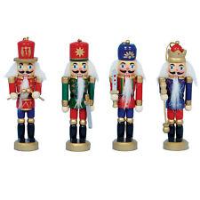 Decoración Navidad 4 Pack 12cm Cascanueces Estilo Figuritas