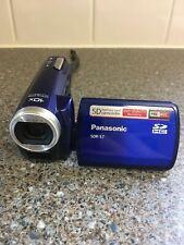 Panasonic SDR-S7 Camcorder - Blue