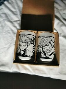 Official Bleach Merchandise Hitsugaya & MatsumotoTea Cups