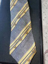 Gianni Versace Tie Medusa Pattern 100% Silk