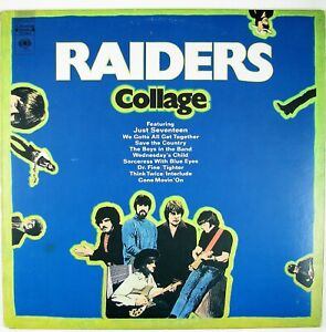 RAIDERS Collage LP 1970 PSYCH ROCK NM- NM-