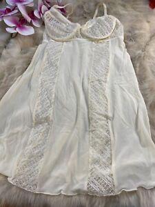 Intimissimi ivory Camisole Top sleepwear nightwear size L cup B