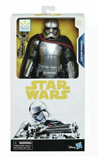 RARE! Star Wars: Force Awakens CAPTAIN PHASMA 11.5 inch with Blaster - NEW!!!